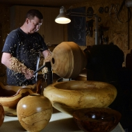 Venue 134 - Angus Clyne Woodturning & Photography